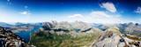 Panoramic Shot from A Peak in Northern Norway Fotografisk trykk av  Lamarinx