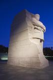 USA, Washington Dc, Martin Luther King Memorial, Dawn Photographic Print by Walter Bibikow