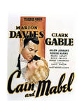 Cain and Mabel - Movie Poster Reproduction Pôsters