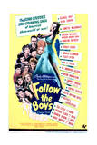 Follow the Boys - Movie Poster Reproduction Kunstdrucke
