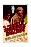 The Adventures of Sherlock Holmes - Movie Poster Reproduction Poster