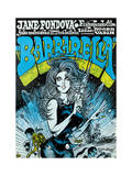 Barbarella - Movie Poster Reproduction Pôsters