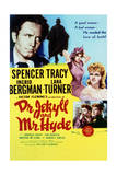 Dr. Jekyll and Mr. Hyde - Movie Poster Reproduction Plakater
