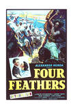 The Four Feathers - Movie Poster Reproduction Plakat