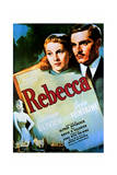 Rebecca - Movie Poster Reproduction Posters