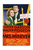 Mrs. Miniver - Movie Poster Reproduction Poster