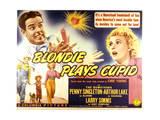 Blondie Plays Cupid - Lobby Card Reproduction Prints