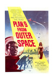 Plan 9 from Outer Space - Movie Poster Reproduction Kunstdrucke
