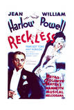 Reckless - Movie Poster Reproduction Prints