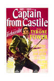 Captain from Castile - Movie Poster Reproduction Posters