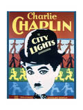 City Lights - Movie Poster Reproduction Premium gicléedruk