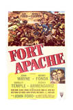 Fort Apache - Movie Poster Reproduction Poster