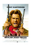 The Outlaw Josey Wales - Movie Poster Reproduction Premium Giclee-trykk
