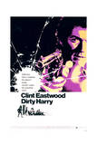 Dirty Harry - Movie Poster Reproduction Plakat