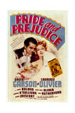 Pride and Prejudice - Movie Poster Reproduction Poster