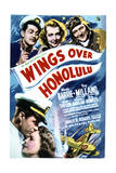 Wings Over Honolulu - Movie Poster Reproduction Prints