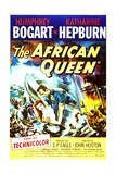 The African Queen - Movie Poster Reproduction Plakater
