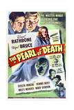 The Pearl of Death - Movie Poster Reproduction Plakater