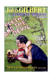 Flesh and the Devil - Movie Poster Reproduction Posters