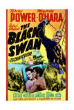 The Black Swan - Movie Poster Reproduction Art