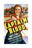 Captain Blood - Movie Poster Reproduction Poster
