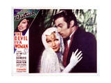 The Devil Is a Woman - Lobby Card Reproduction Poster