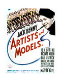 Artists and Models - Movie Poster Reproduction Affischer