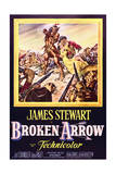 Broken Arrow - Movie Poster Reproduction Poster