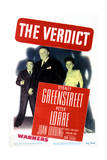 The Verdict - Movie Poster Reproduction Pósters