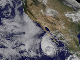 Tropical Storm Miriam Off the Coast of Baja California Photographic Print