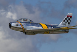 A Vintage F-86 Sabre of the Warbird Heritage Foundation Photographic Print