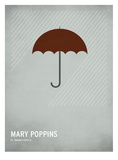 Mary Poppins Kunstdrucke von Christian Jackson