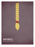Raiponce Posters par Christian Jackson