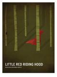 Rødhætte og ulven Plakater af Christian Jackson