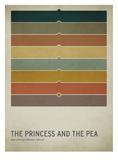 The Princess and the Pea Art par Christian Jackson