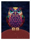 Uil Kunst van Ali Gulec