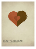 Beauty and the Beast Posters por Christian Jackson