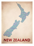 ニュージーランド 高画質プリント