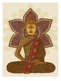 Sitting Buddha Julisteet tekijänä Valentina Ramos