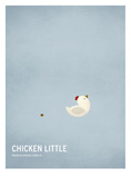 Chicken Little Lámina por Christian Jackson