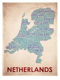Netherlands 高品質プリント