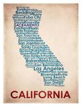 California 高画質プリント