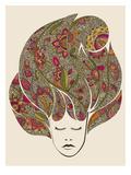 Dreaming Flowers Taide tekijänä Valentina Ramos