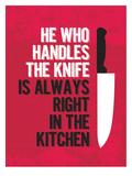 Handle the Knife Julisteet tekijänä Patricia Pino