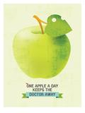 One Apple Póster por Patricia Pino
