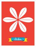 Küche Poster von Patricia Pino