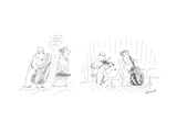 New Yorker Cartoon Premium Giclee Print by Jean-Jacques Sempé