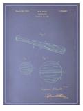 Baseball Bat Blueprint Prints