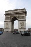 Arc de Triomphe Paris France Photo Art Print Poster Lámina