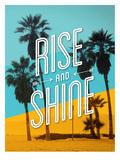 Rise and Shine Beach Stampe di Brett Wilson